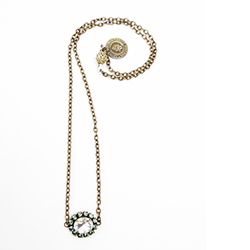 Erin Dainty Drops Necklace