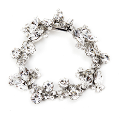 SV Couture Antique Floral Bracelet