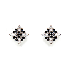 SV Couture Antique Star Earrings