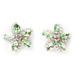 SV Couture Peridot Garden Earrings