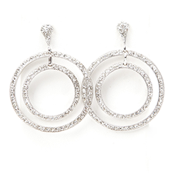 SV Couture Double Hoop Earrings