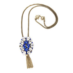 SV Couture Royal Tassel Necklace