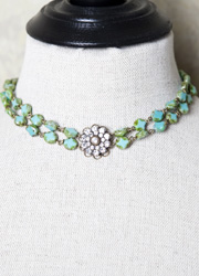 Turquoise Diamond Love Wrap